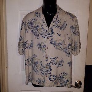 Royal Robbins Mens Short SLeeve Hawaiian Shirt